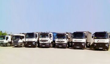 nueva flota de camiones de subcarn