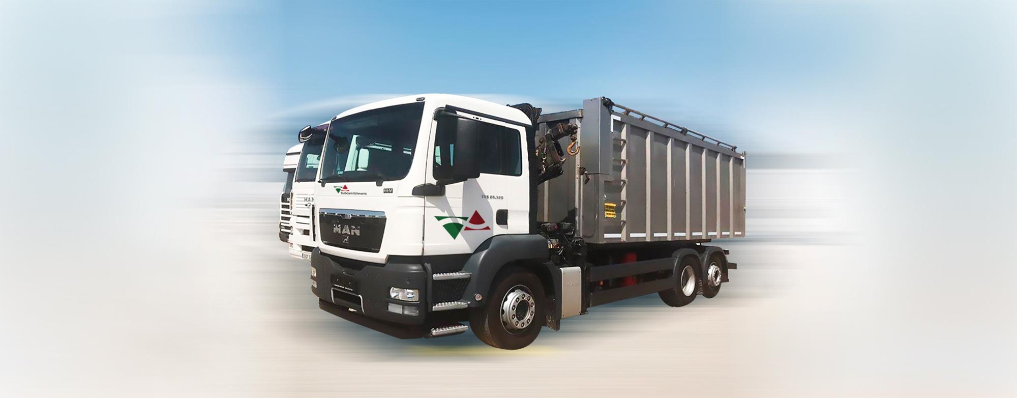 logistica subcarn camiones inox recogida producto